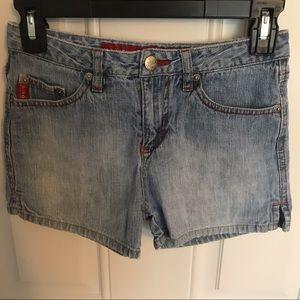 Mudd light jean shorts